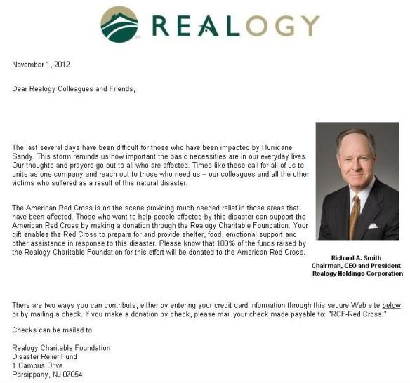 Realogy Charitable