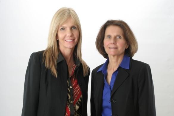 Jackie Merchant and Debbie Briggs